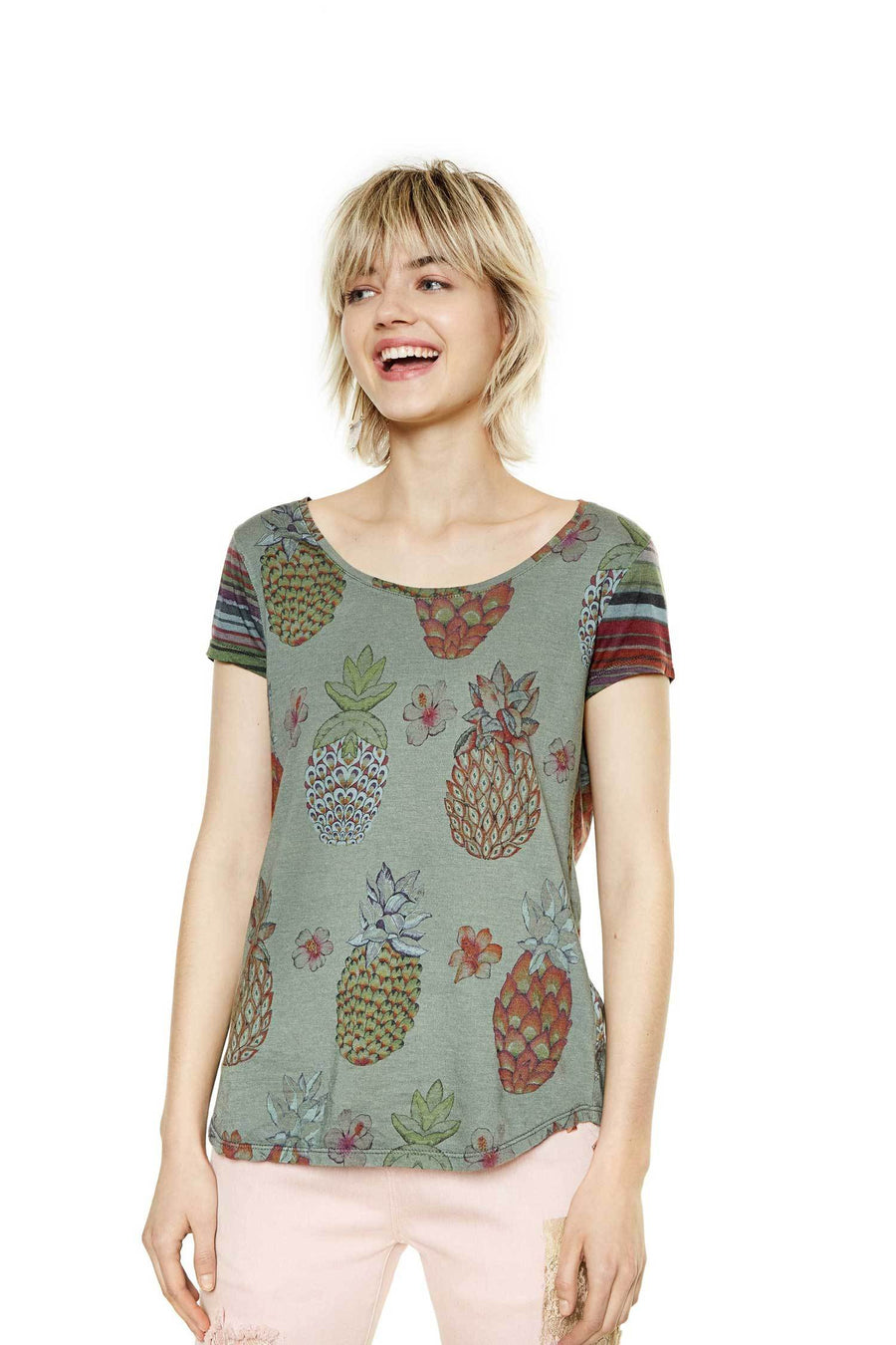 Shop Online Camille top by Desigual  Frockaholics Tops