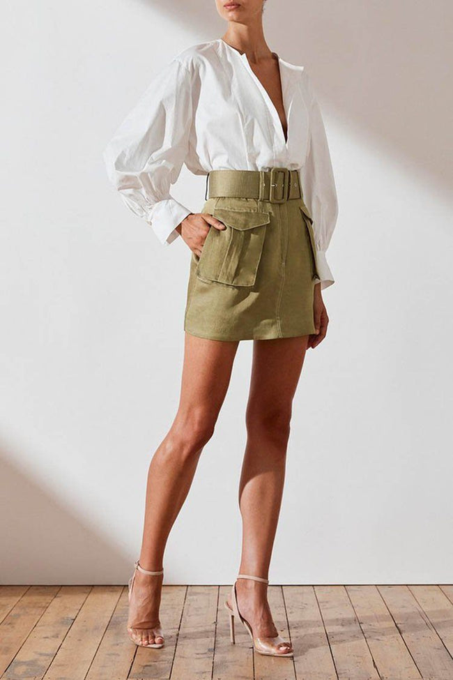 Ellington Mini Skirt w Belt