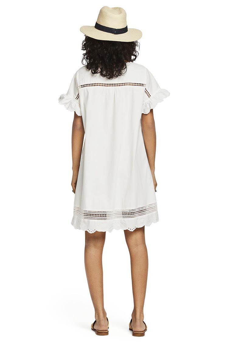 Cotton Dress in Off White | FINAL SALE