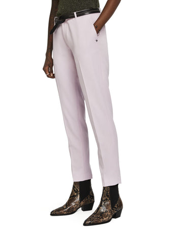 Classic Tailored Pants in Lilac
