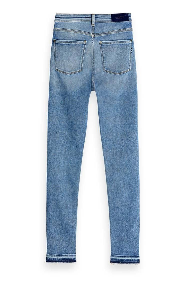 Haut - Blauw Sky | High Rise Skinny Fit