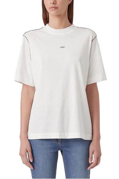 Kirkman Tee in Soft White Tops C & M Camilla & Marc