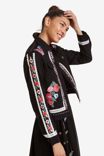 Jacket w Mexican Motifs
