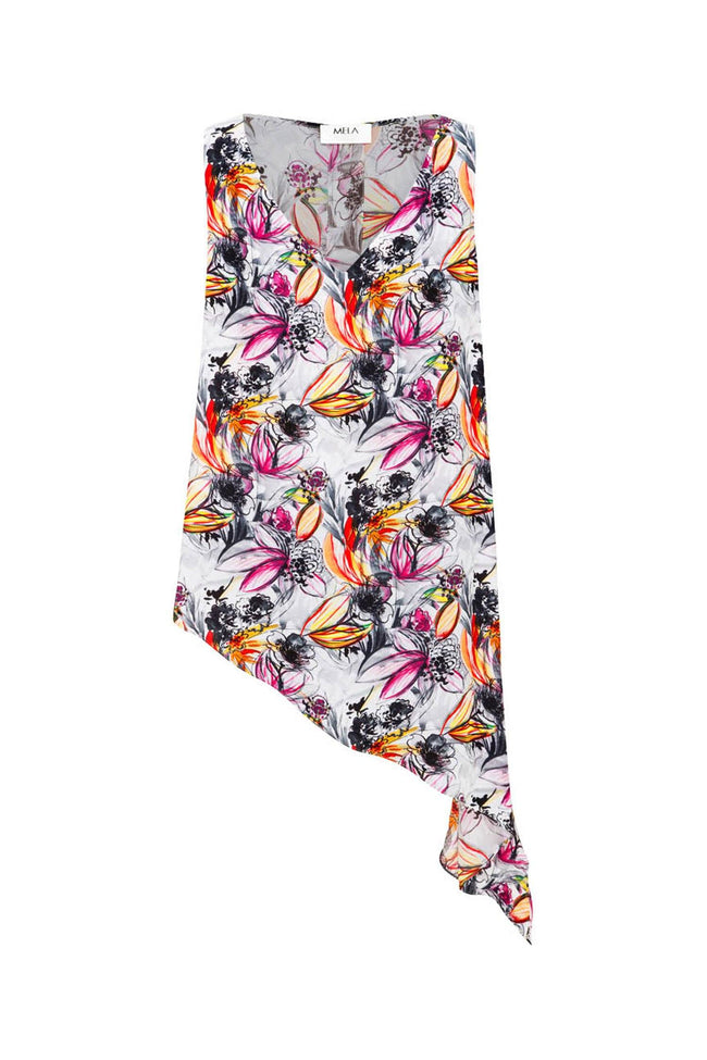 Tie Side Audrey in Watercolour Floral