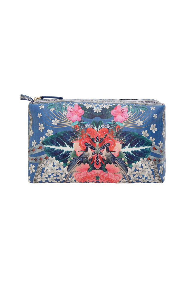 Small Make Up Bag in Faraway Florals