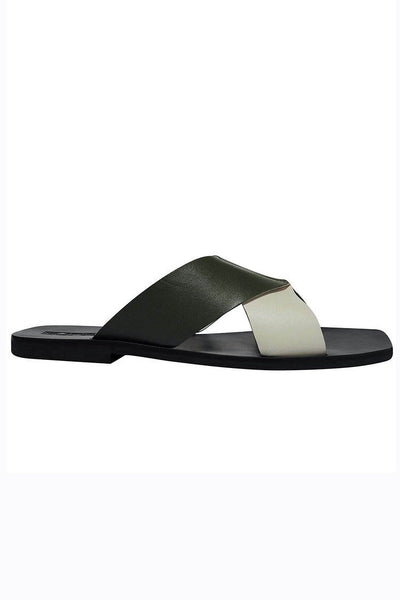 Julian Slide in Khaki | FINAL SALE Shoes Sol Sana