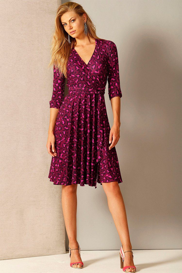Start Me Up Wrap Dress