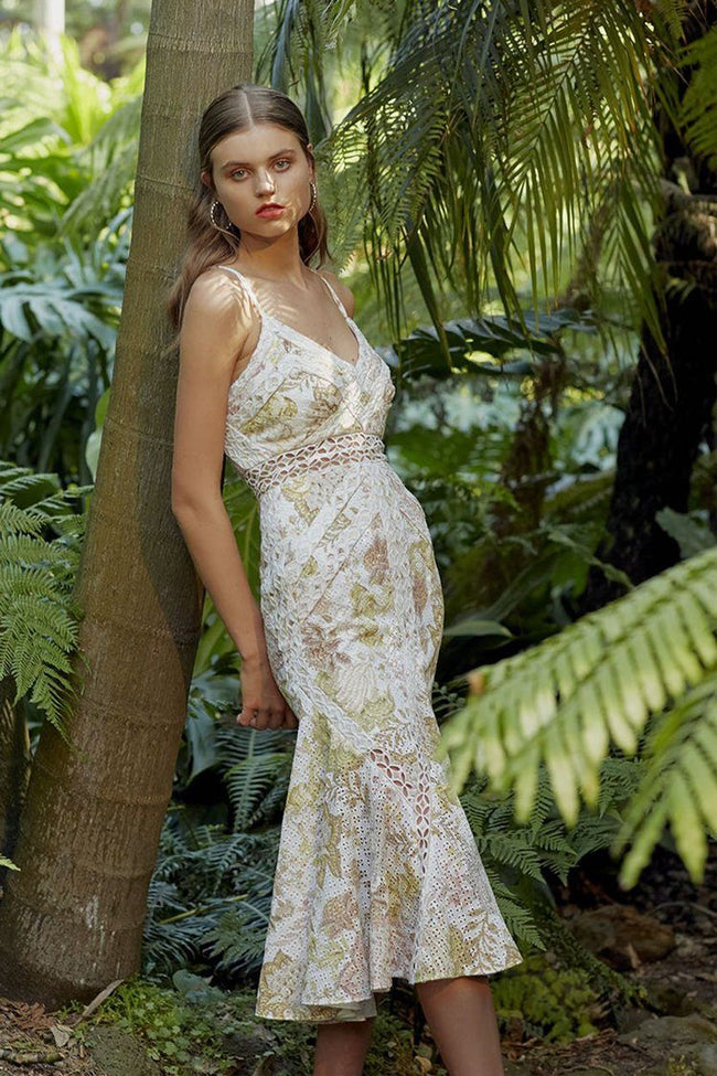 Enchanted Garden Midi Dress | FINAL SALE