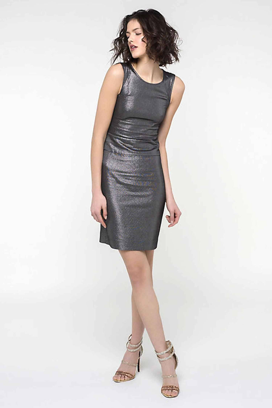 Lurex Sheath Dress
