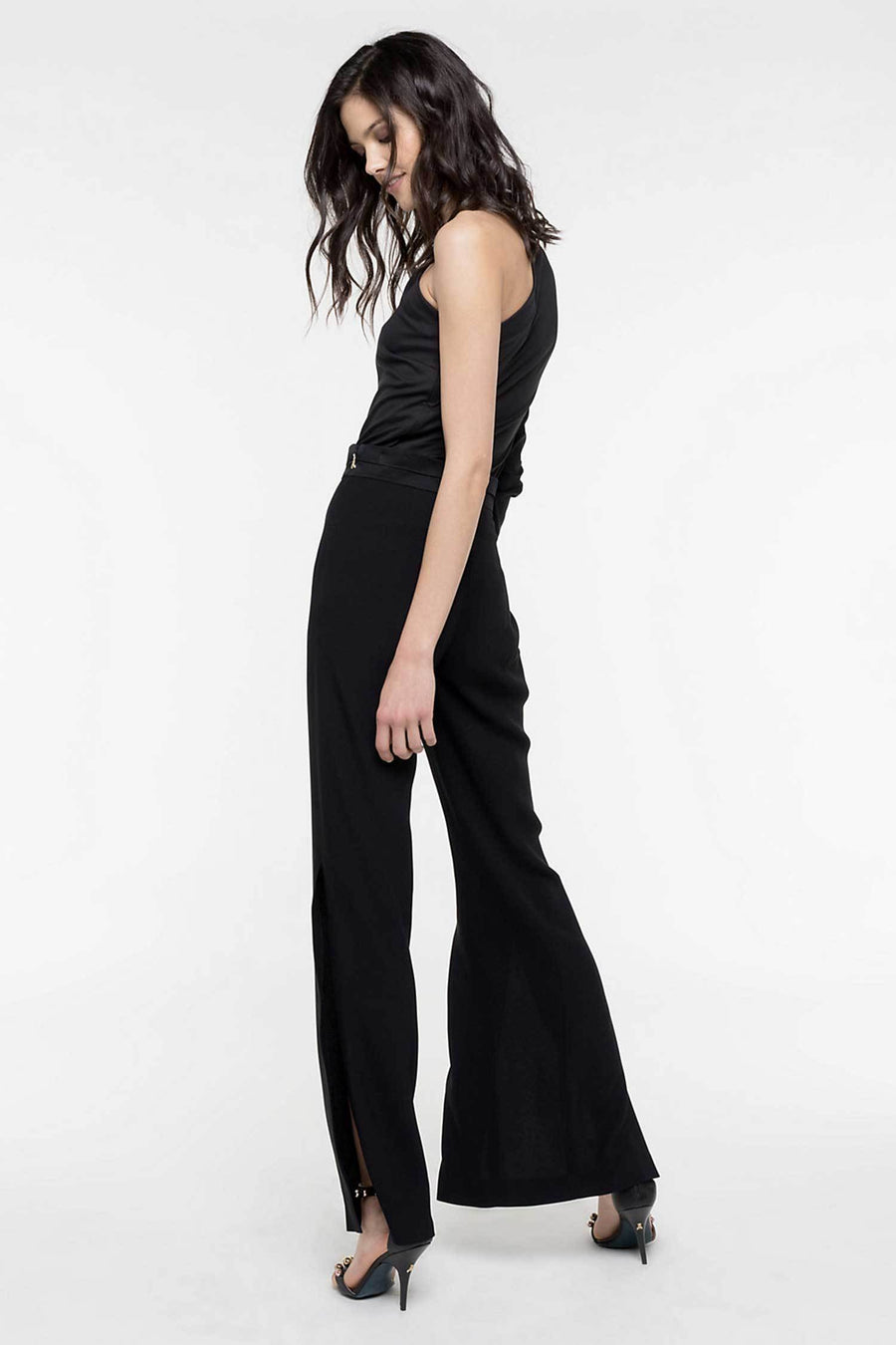 Shop Online High-Waisted Trousers by Patrizia Pepe  Frockaholics Bottoms