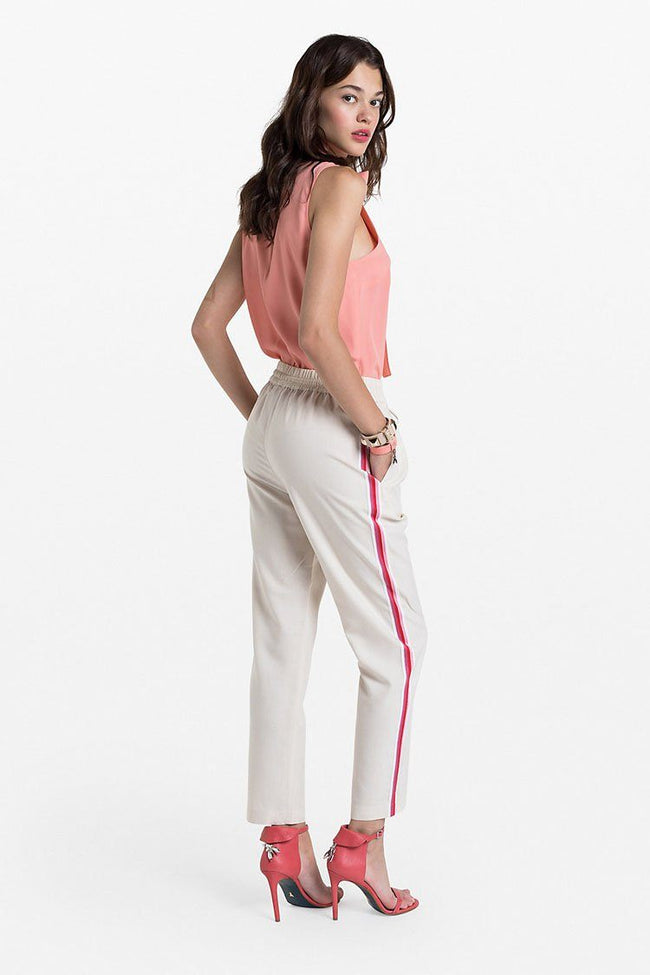 Viscose-blend Trousers | FINAL SALE