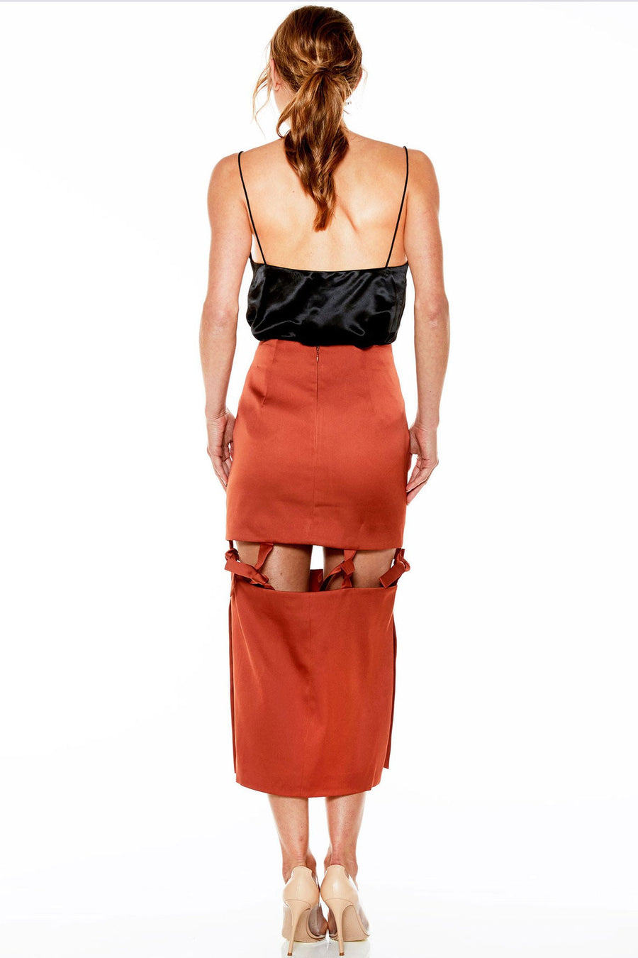 Shop Online Tied Down Skirt by Talulah | Frockaholics.com Bottoms