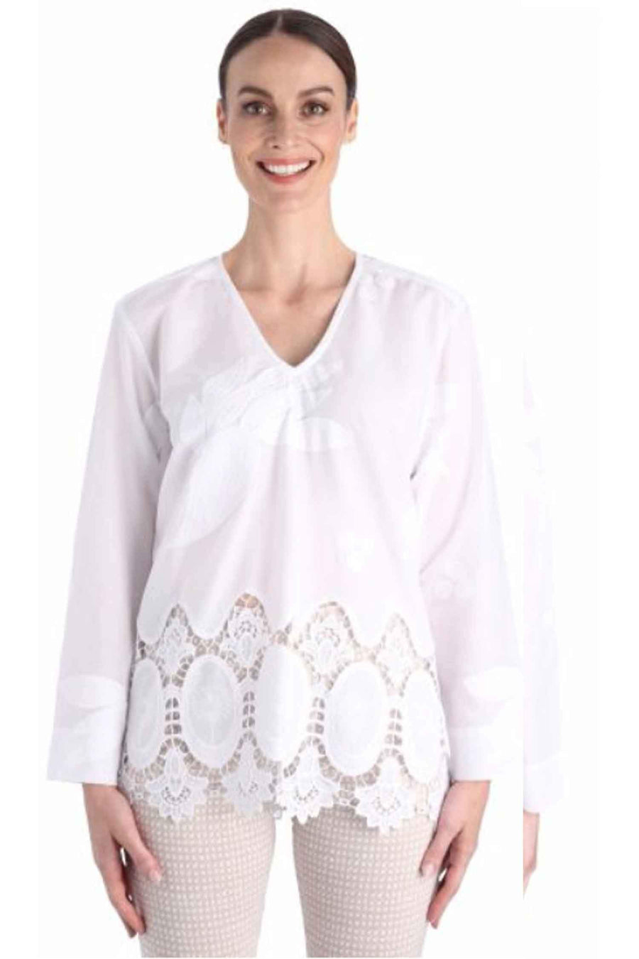Shop Online Paloma V-Neck Tunic | FINAL SALE by Andiamo  Frockaholics Tops