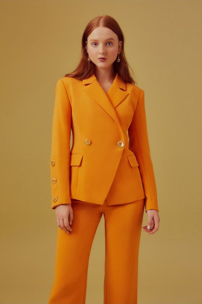 Follower Blazer in Orange