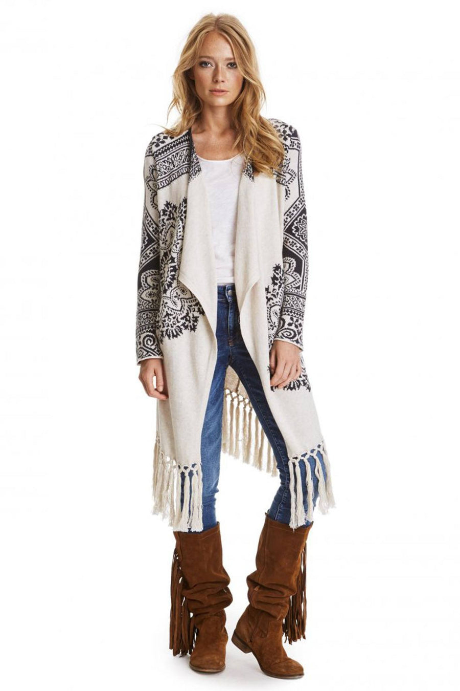 Under The Moon Long Cardigan