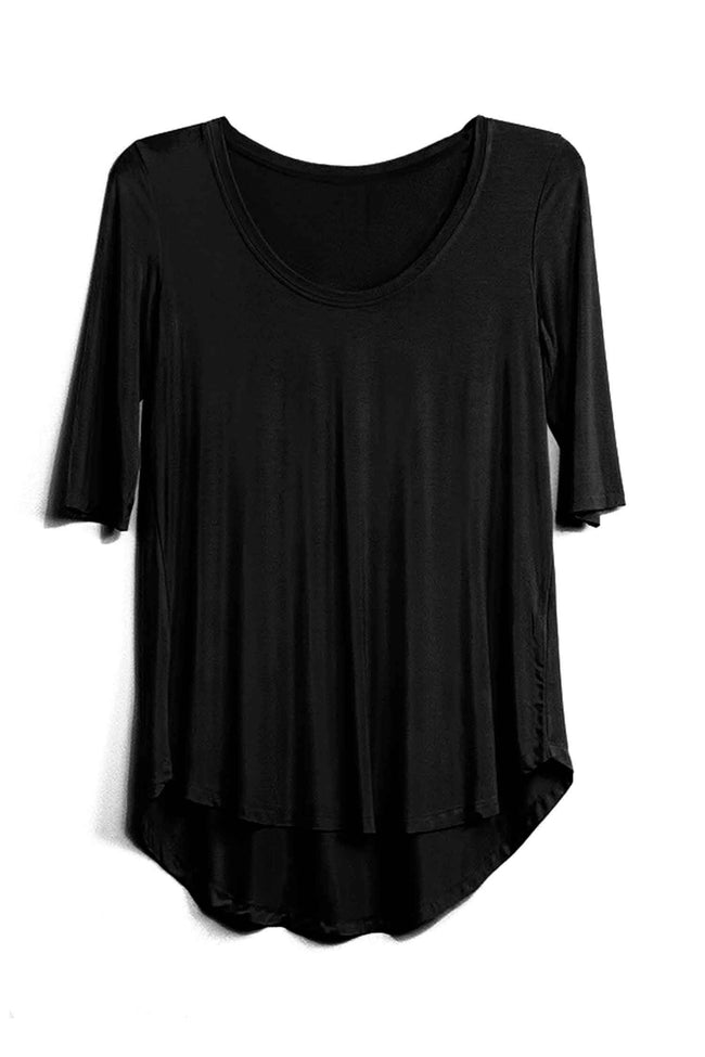 Aroa Top in Black by Lounge Frockaholics.com