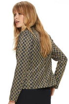 Shop Online Jacquard Blazer by Maison Scotch  Frockaholics Jackets & Outerwear