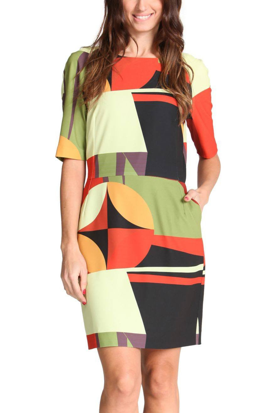 Geometric Miren Dress  | FINAL SALE by Desigual Frockaholics.com