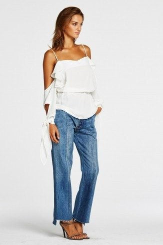 1979 Top in White | FINAL SALE Tops Maurie and Eve