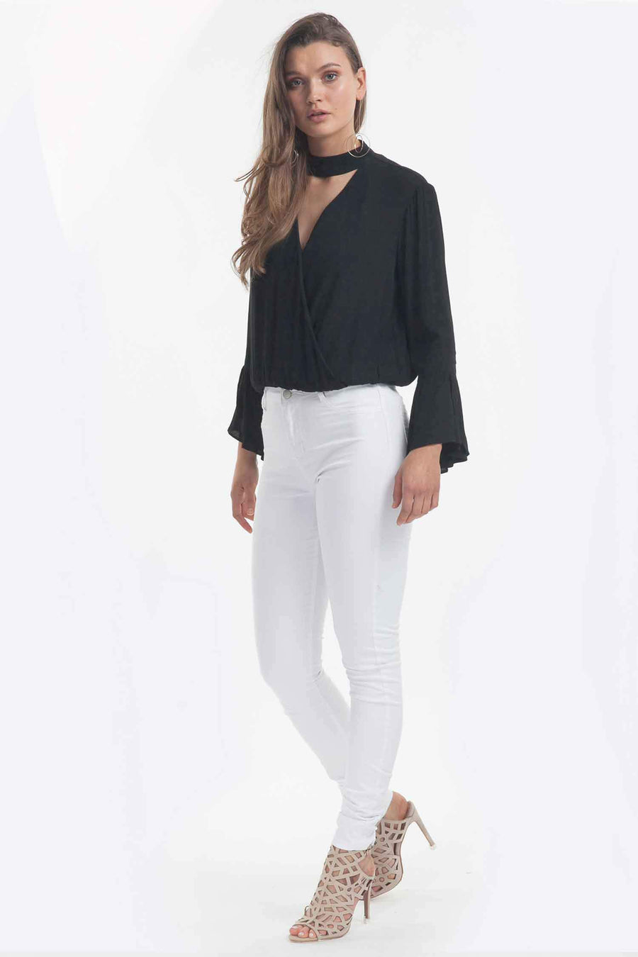 Allure Blouse in Black