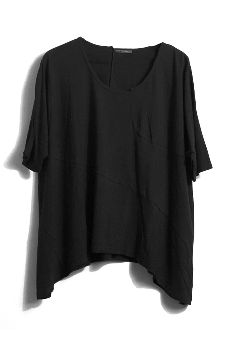 Etang Tunic in Black by Lounge Frockaholics.com