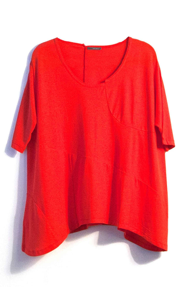 Etang Tunic in Red by Lounge Frockaholics.com
