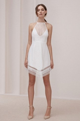 All Night Lace Mini Dress by Keep Sake