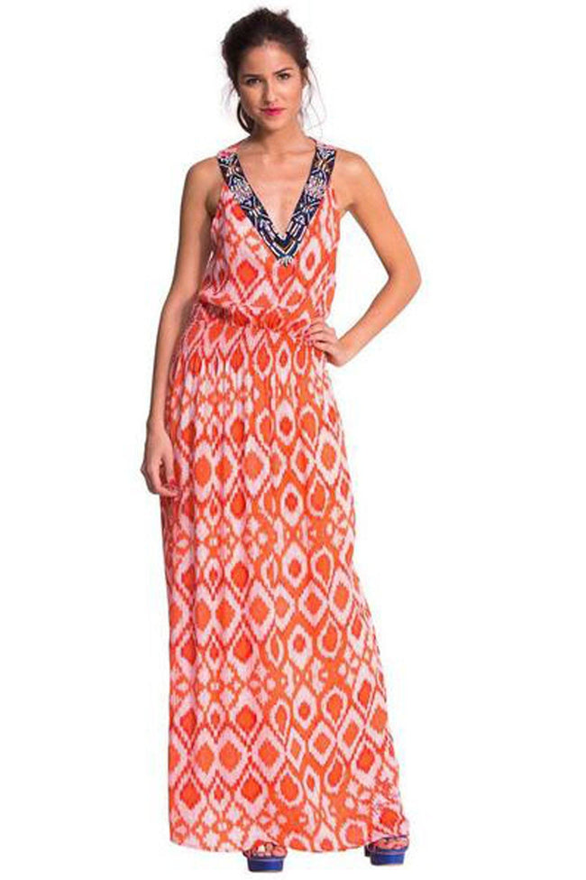 Shop Online Red maxi | FINAL SALE by Desigual  Frockaholics Dresses
