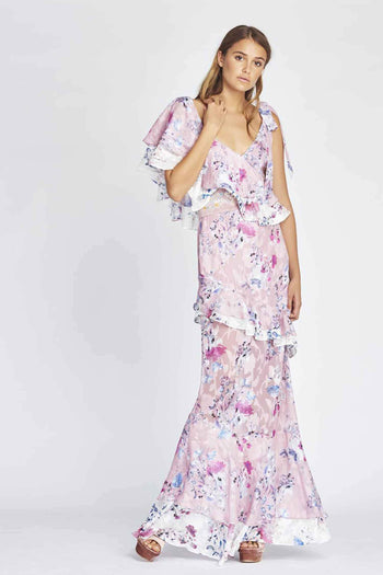 Alessandra Ruffle Maxi by We Are Kindred Frockaholics.com