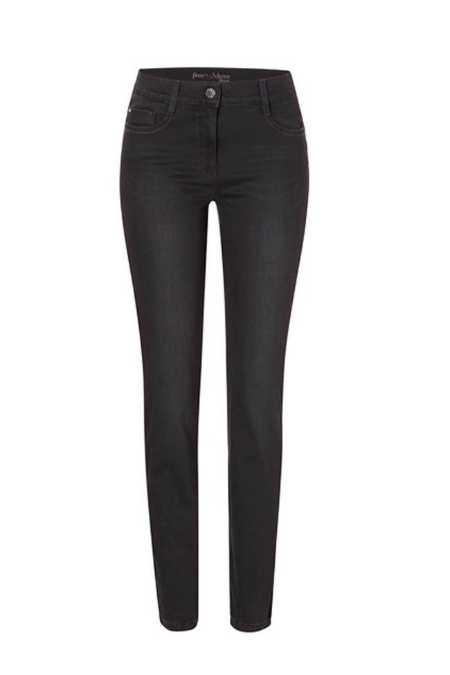 Shop Online Shakira Jeans Super Slim in Black by Brax  Frockaholics Bottoms