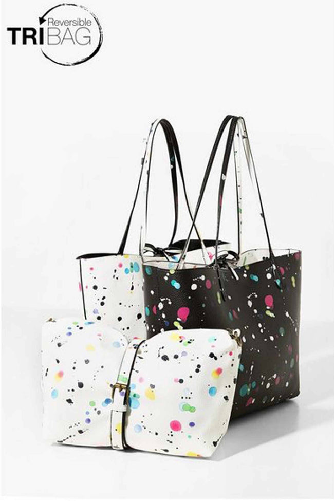 Capri New Splatter Shopper Bag