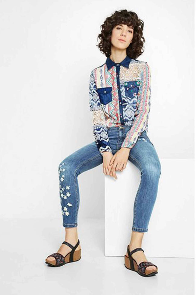 Shop Online Mauricia Shirt by Desigual  Frockaholics Tops