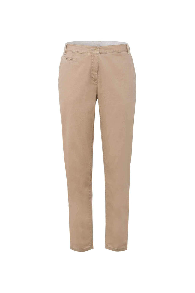 Rhonda Sport Chinos in Tan