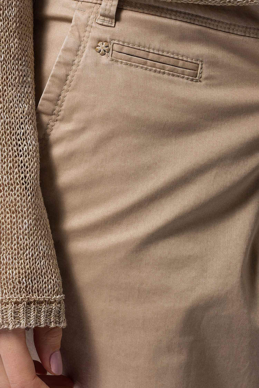 Shop Online Rhonda Sport Chinos in Tan by Brax  Frockaholics Bottoms