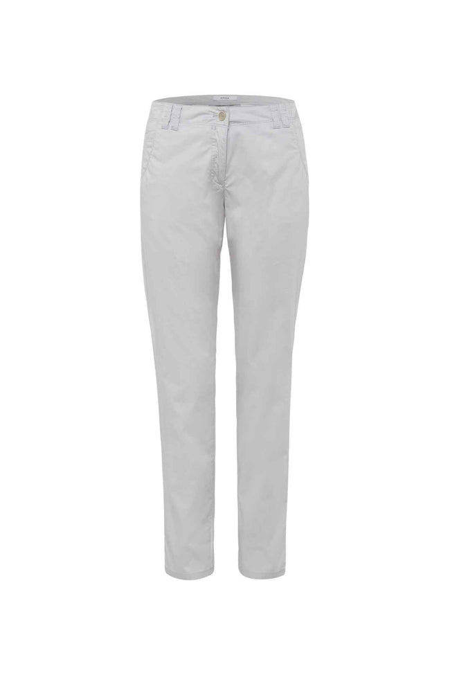 Melrose Summer Pants in Silver Grey