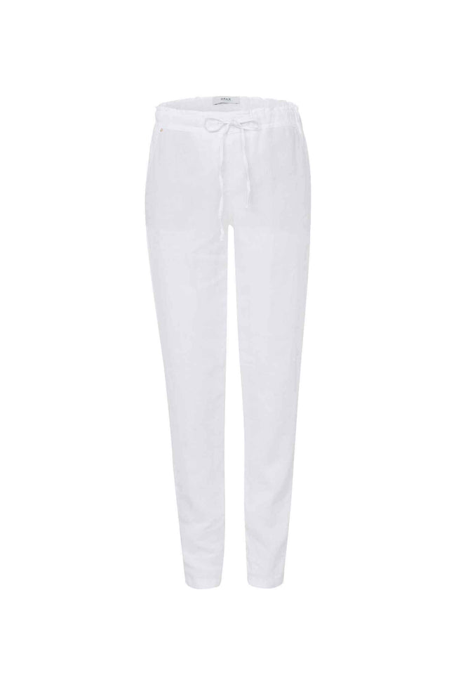 Morris Linen Pants in White