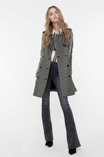 Trench Coat in Tweed