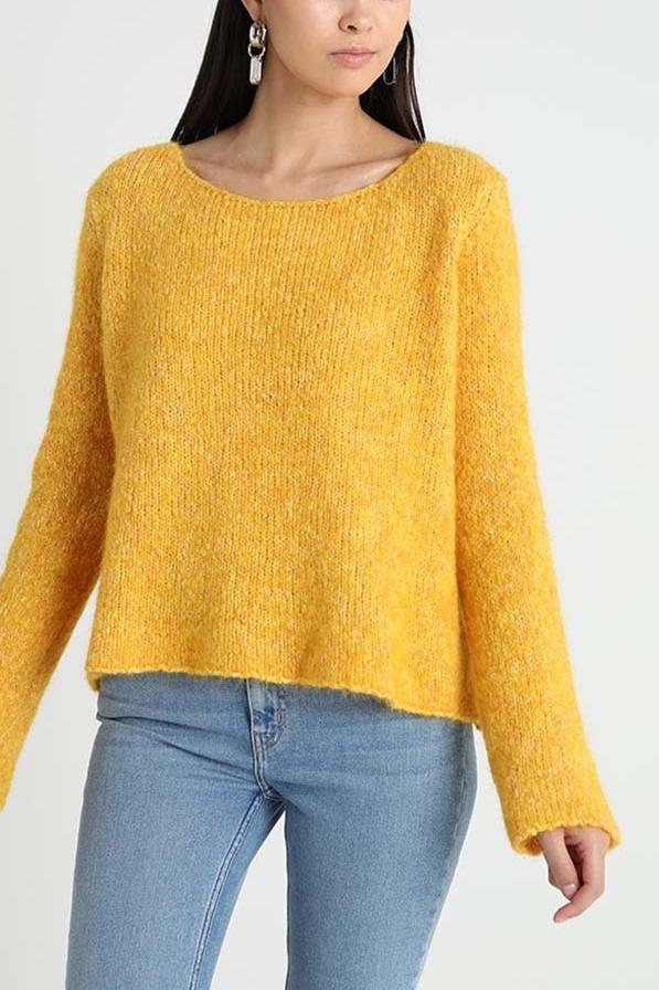 Zapitown Boat Neck Jumper