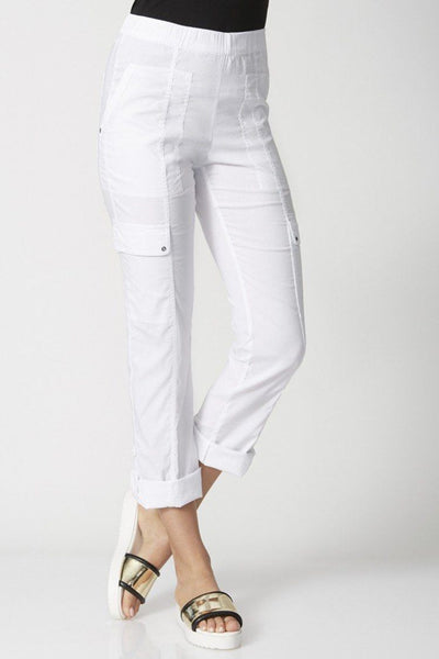 Acrobat Cargo Pant in White Bottoms Verge