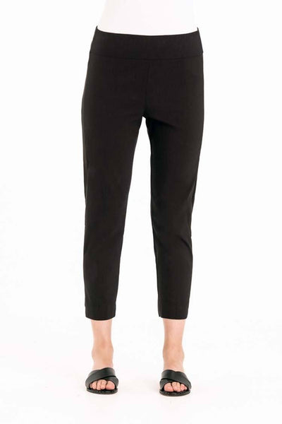 Acrobat Satin Pant in Black Bottoms Verge