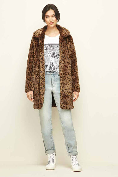 Addicted Coat in Animal Jackets & Outerwear Verge