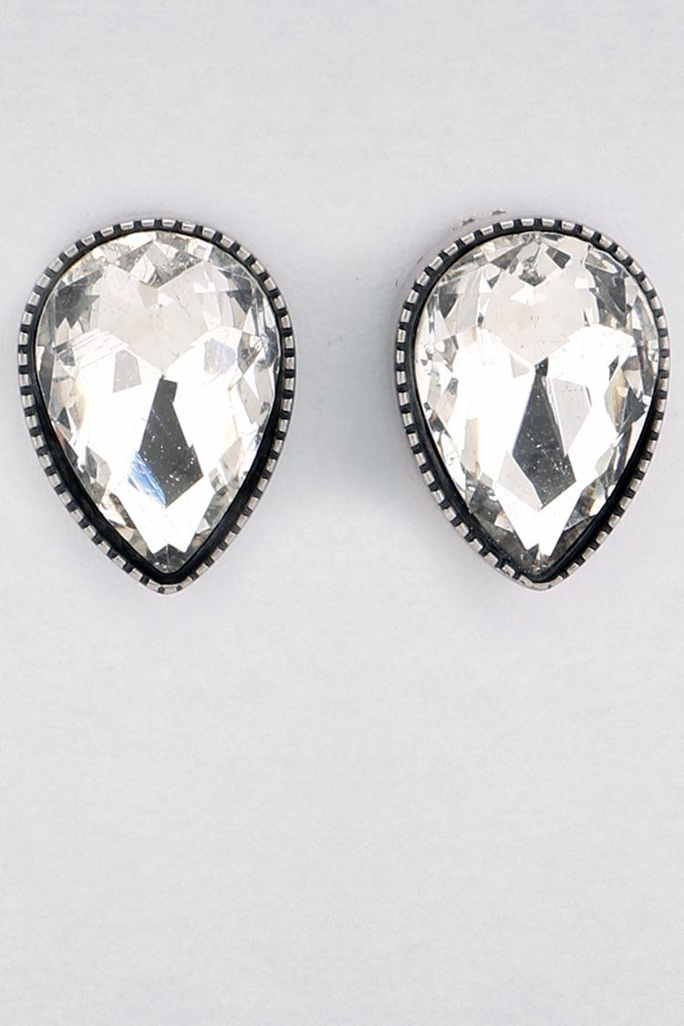 Adelaide Stud Earring in Clear