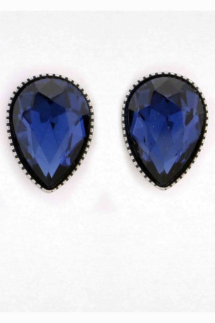 Adelaide Stud Earring in Midnight