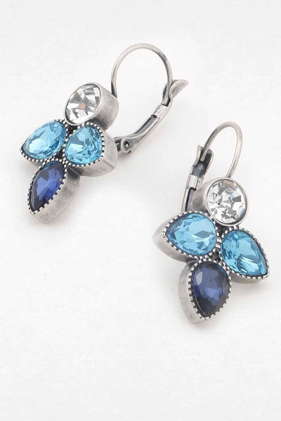 Adelia French Hook Earring in Blue Accessories Peter Lang