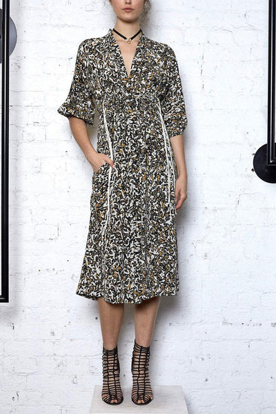 Algae Future Shirt Dress in Leopard Dresses KITX