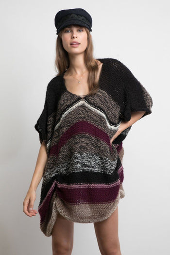 Ali Poncho in Wine Mix