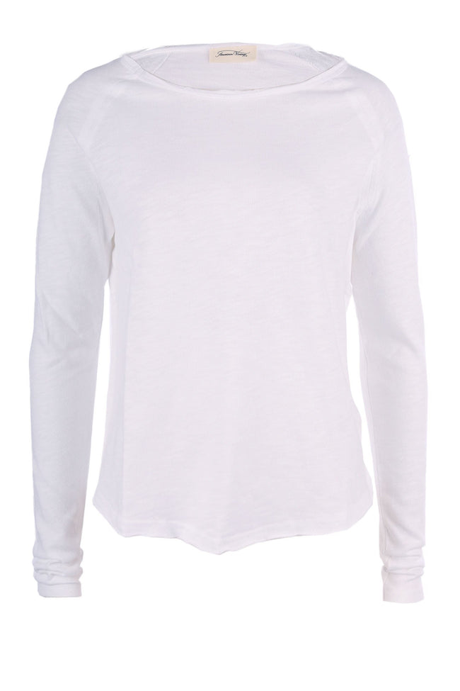 Shop Online Sonoma Sweatshirt in White by American Vintage  Frockaholics Tops