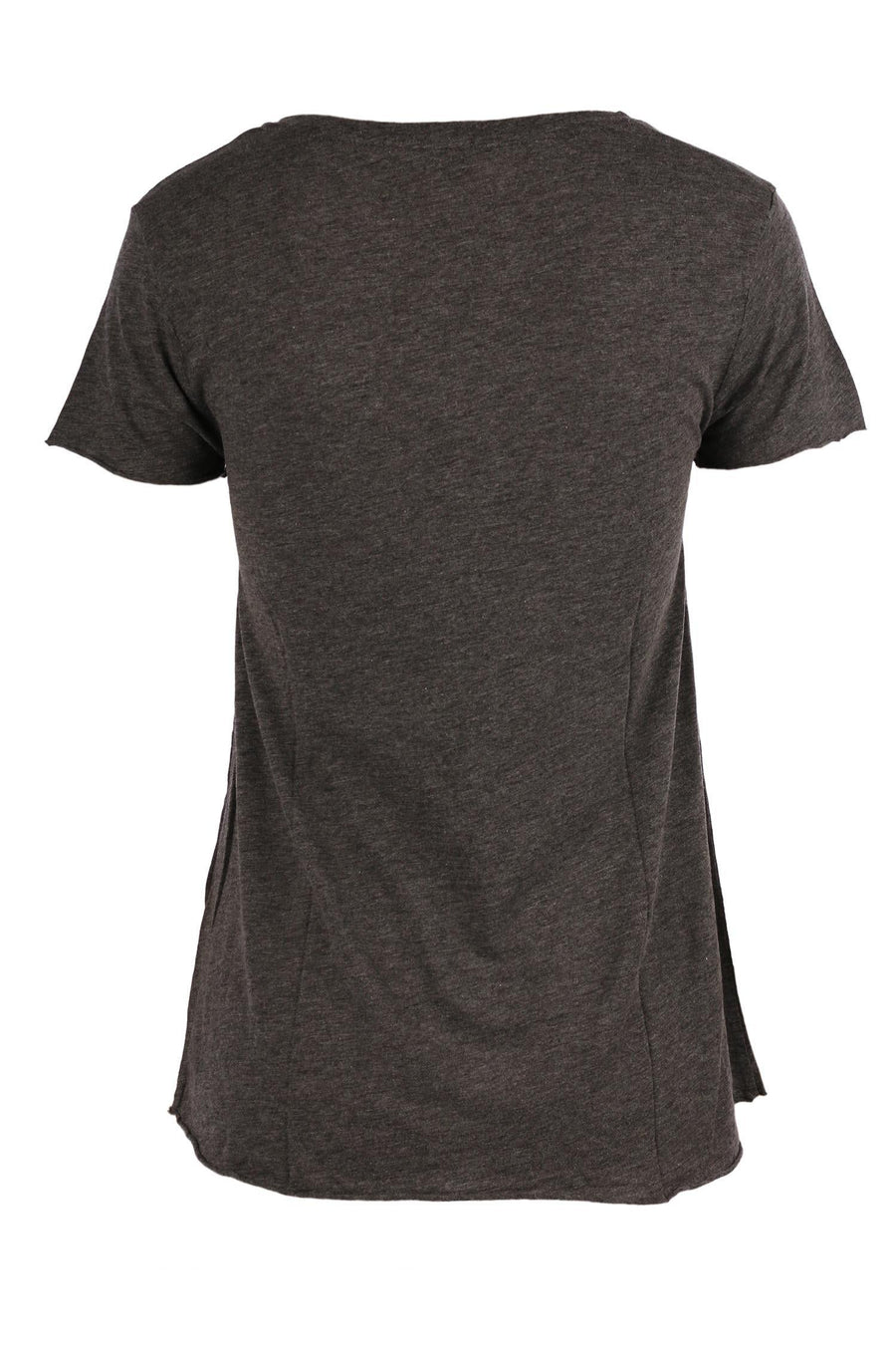 Jacksonville Short Sleeve Tee in Charcoal