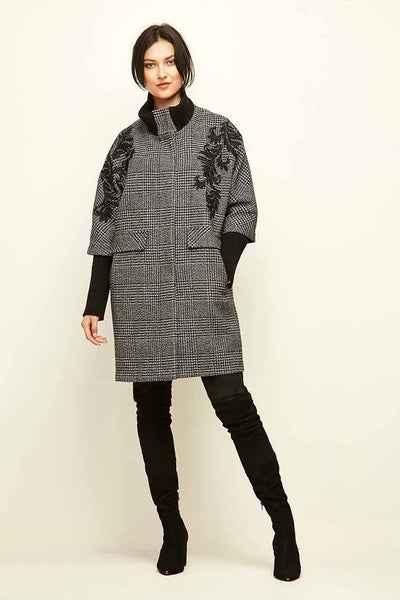 Arcadia Coat in Charcoal Jackets & Outerwear Verge