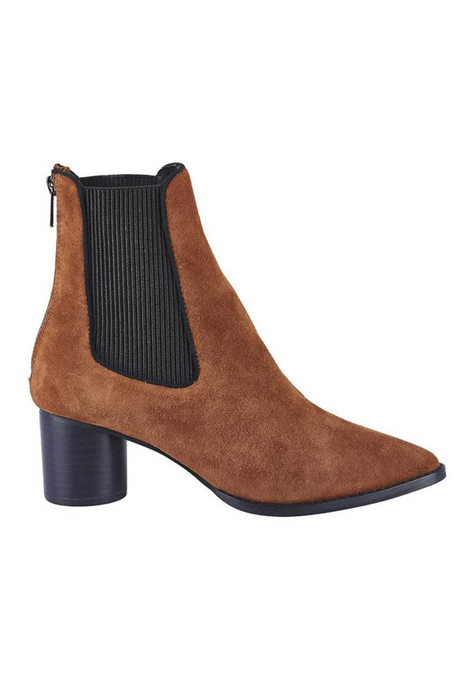 Shop Online Ashton Boot in Burnt Tan Suede by Sol Sana  Frockaholics Shoes
